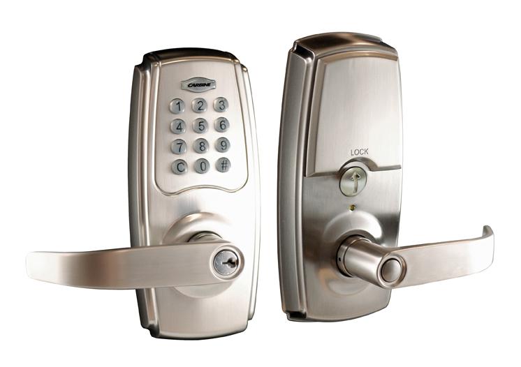 Carbine electronic digital door lock northside locksmiths for Omni garage door